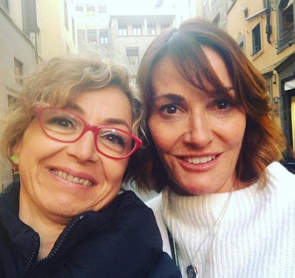 Sarah Parish in Florence