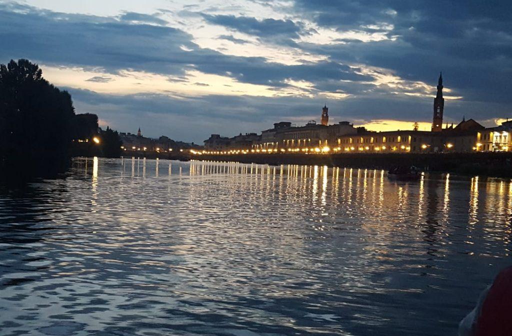 Rafting sull'Arno